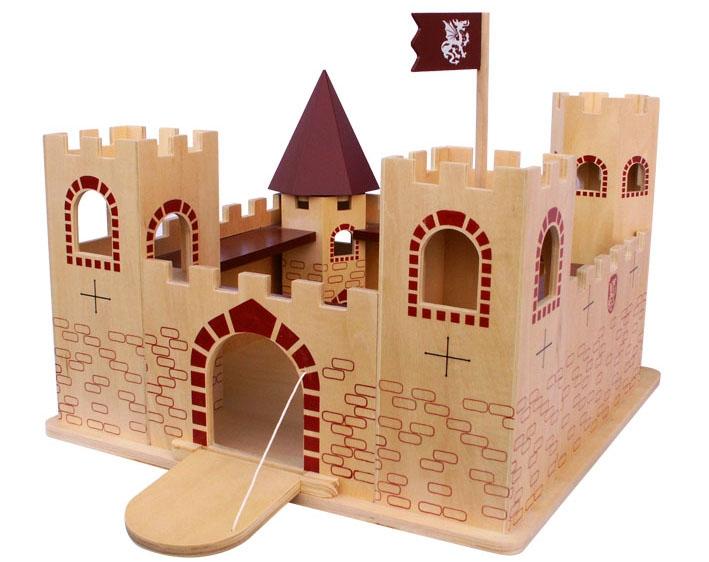 幼儿手工制作城堡 图片